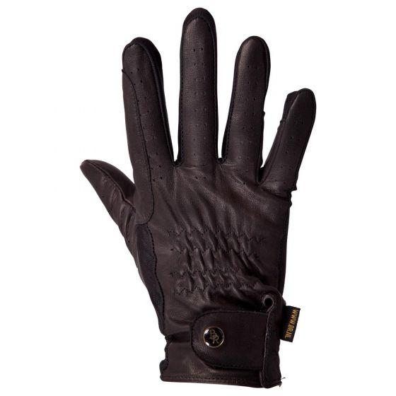 BR Jezdecké rukavice BR Tresor z kozí kůže