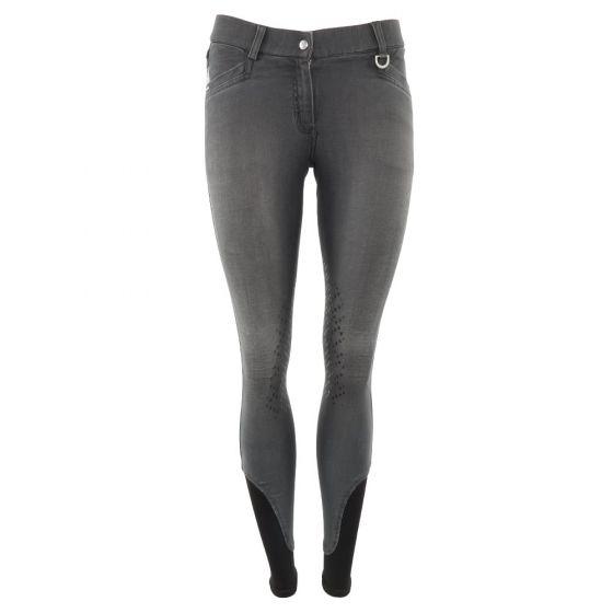 BR Jezdecké kalhoty Mette dámské silikonové chrániče kolen
