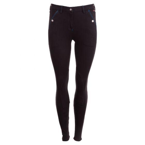 Premiere jezdecké kalhoty Cornflower dámské textilie na kolena