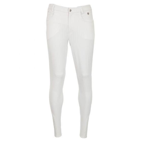 BR Jezdecké kalhoty Leeds pánské silikonové koleno
