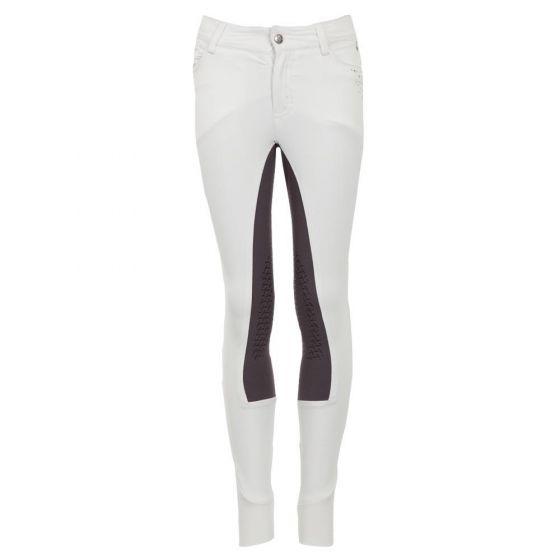BR Jezdecké kalhoty Navan dětské silikonové koleno