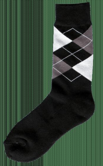 Excellent Jezdecká ponožka černá / šedá / bílá 43-46