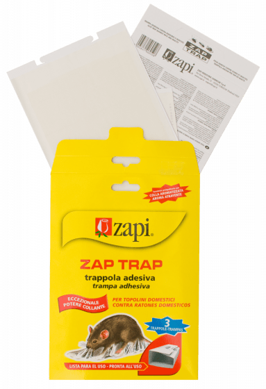 Zapi Lepidlo na past na myši Zapi Zap & amp; hmyz 15x21cm