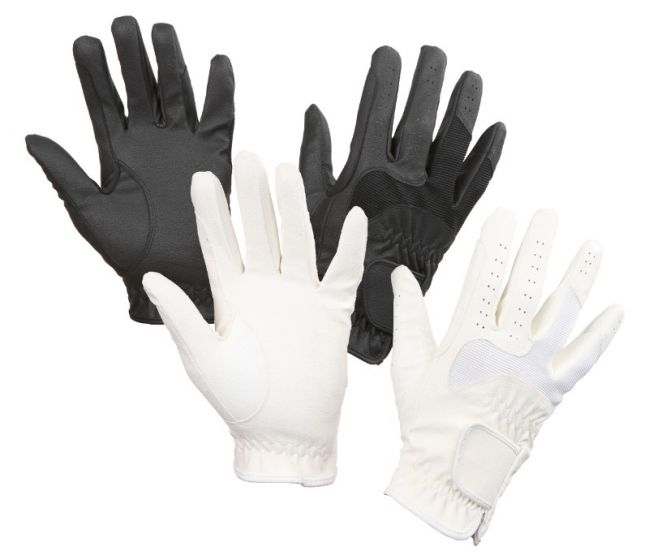 Hofman jezdecká rukavice Gloria White XS