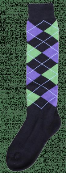 Excellent Podkolenky RE černé / levé zelené / fialové 43-46