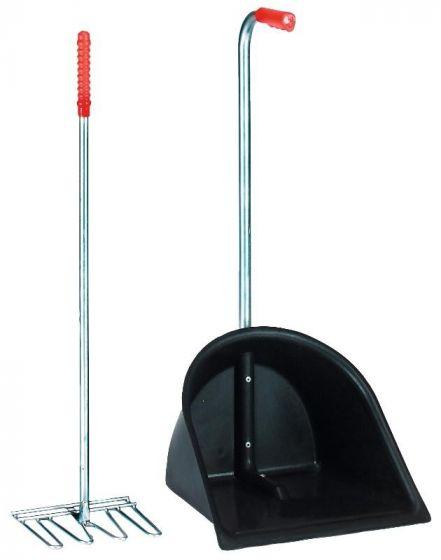 Hofman Sbírka hnoje + rake 75cm