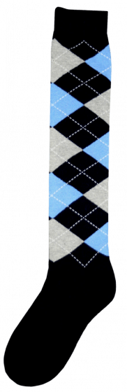 Excellent Podkolenky RE d. Modré / šedé / modré 43-46