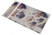 Wrapping Paper Horse Heads