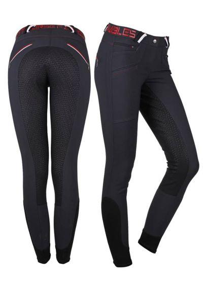 QHP Jezdecké Kalhoty Lisa Protiskluzové Sedlo