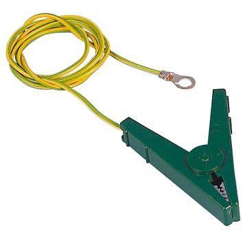 Hofman Zemnicí přípojný kabel EC svorky zelené