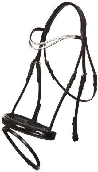 QHP Bridle Artemis Black Cob