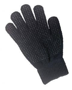Hofman jezdecké rukavice Magic Grippy Black Adults