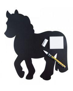 Značka s motivem koně