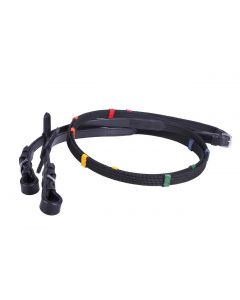 QHP zesílené barevné zarážky černé barvy