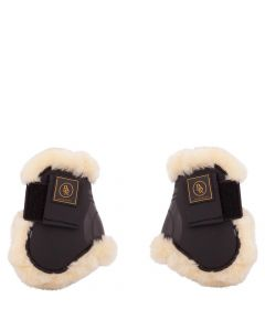BR Fetlock jezdecké pásky na boty Snuggle imitace ovčí kůže