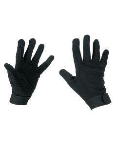 Hofman jezdecké rukavice Bavlna Black XS