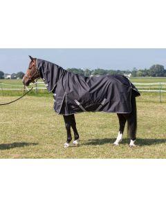 Harryho kůň Dřevěný koberec Thor 0gr. s krkem Stretch limo