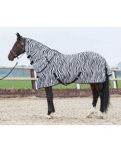 Harryho koně Flysheet s volným krkem, zebra