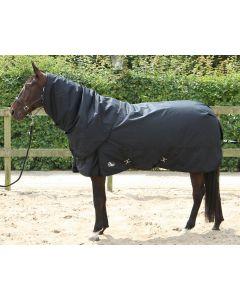 Harryho konská deka Thor 400gr s krkem Strečové limo