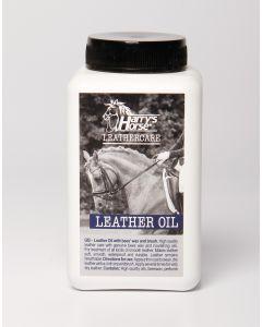 Harryho koně Kožený olej / včelí vosk s kartáčem (500 ml.) Množství