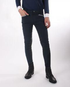 QHP Jezdecké kalhoty Olav Junior přilnavost k noze