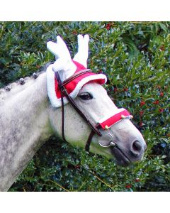 QHP Reindeer hat for horses