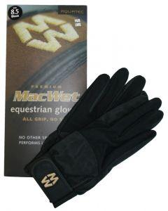 Hofman jezdecké rukavice Micro Mesh 9 White