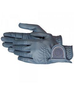 PFIFF Jezdecká rukavice 'BRILLIANT' Se štrasovými kameny