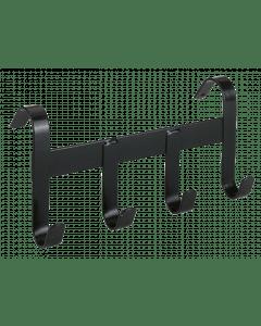 Hofman Držák ohlávky kovový se 4 závěsnými háčky černý