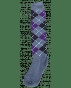 Excellent Podkolenky RE šedé / černé / fialové 43-46