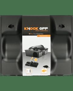 Knock Off Feed Box Krysa / Myš Dvojitá návnada vč. Krysa svorka