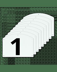 Vplast Zobrazit čísla skoků 1 až 9