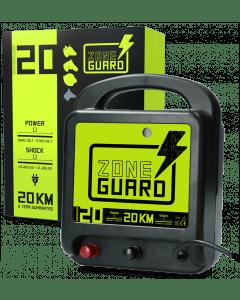 ZoneGuard Elektrické plotové zařízení ZoneGuard je napájeno 20 km