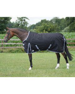 QHP Volná přikrývka 600 Fleece černá 145