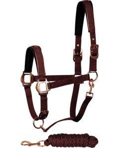 Harry's Horse Halter set Just Ride Rosegold
