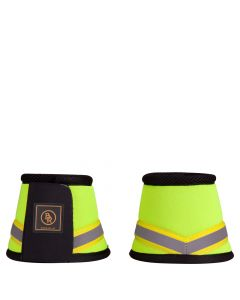 BR Reflective Bell Boots Neon