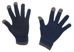 Hofman jezdecké rukavice Magic Touch Blue