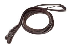 Ideal Anti-Slip Reins Brown