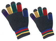 Hofman jezdecké rukavice Magic Grippy Kids
