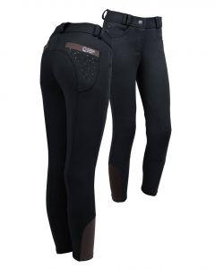 QHP Jezdecké kalhoty Junior Pearl Black 140