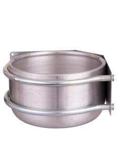 Petting bowl Peetz kulatý hliníkový roh 15ltr