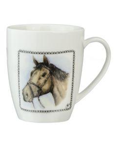 Farm Shop káva hrnku kůň
