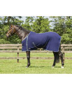QHP Deka fleece základní s obručemi
