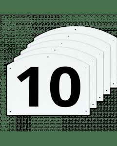 Vplast Zobrazit čísla skoků 10 až 15