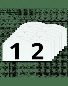 Vplast Zobrazit Kompletní sada čísel a písmen skoků