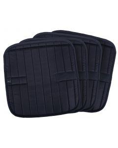 QHP Spodní pod koberečky Metallic glitz Black 45x45