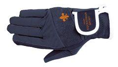 PFIFF jezdecké rukavice Elastické logo