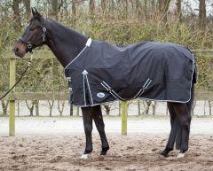 Harry's Horse Thor deka 0 gramů s fleecem podšívkou černá