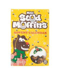 Vánoční muffiny AW18 24x12gr.Mini muffiny m / kalendář VE6
