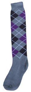 Hofman Podkolenky RE 35/38 Purple/Silver